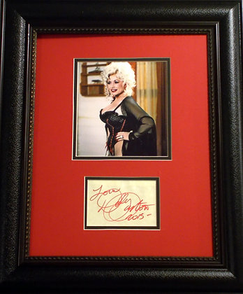 Dolly Parton autograph