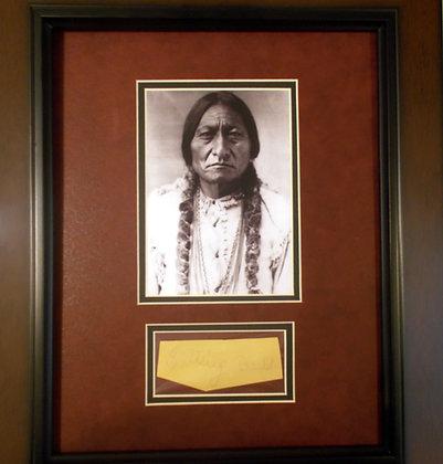 Sitting Bull autograph