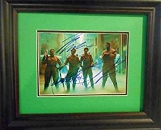 Ghostbusters autographed photo