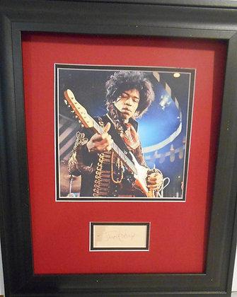 Jimi Hendrix autogaph.