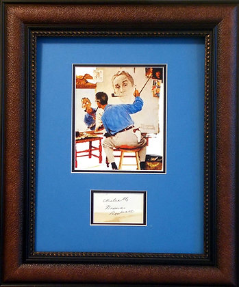 Norman Rockwell autograph
