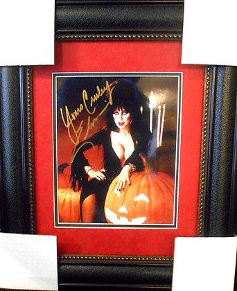 Elvira autograph photo