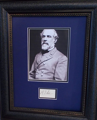 General Robert E. Lee autograph
