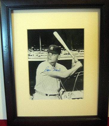 Roger Maris autograph photo