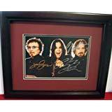 Black Sabbath autographed photo