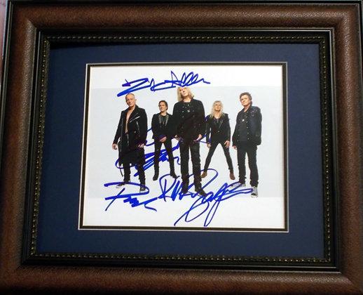 Led Zepplin autographed photo