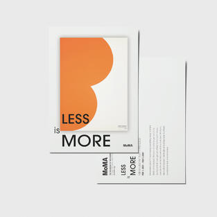 """""""Less is More"""" exhibition"""