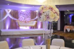 Conical Vase Flower Centrepiece