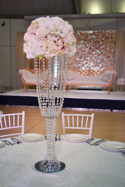 Crystal Table Chandelier