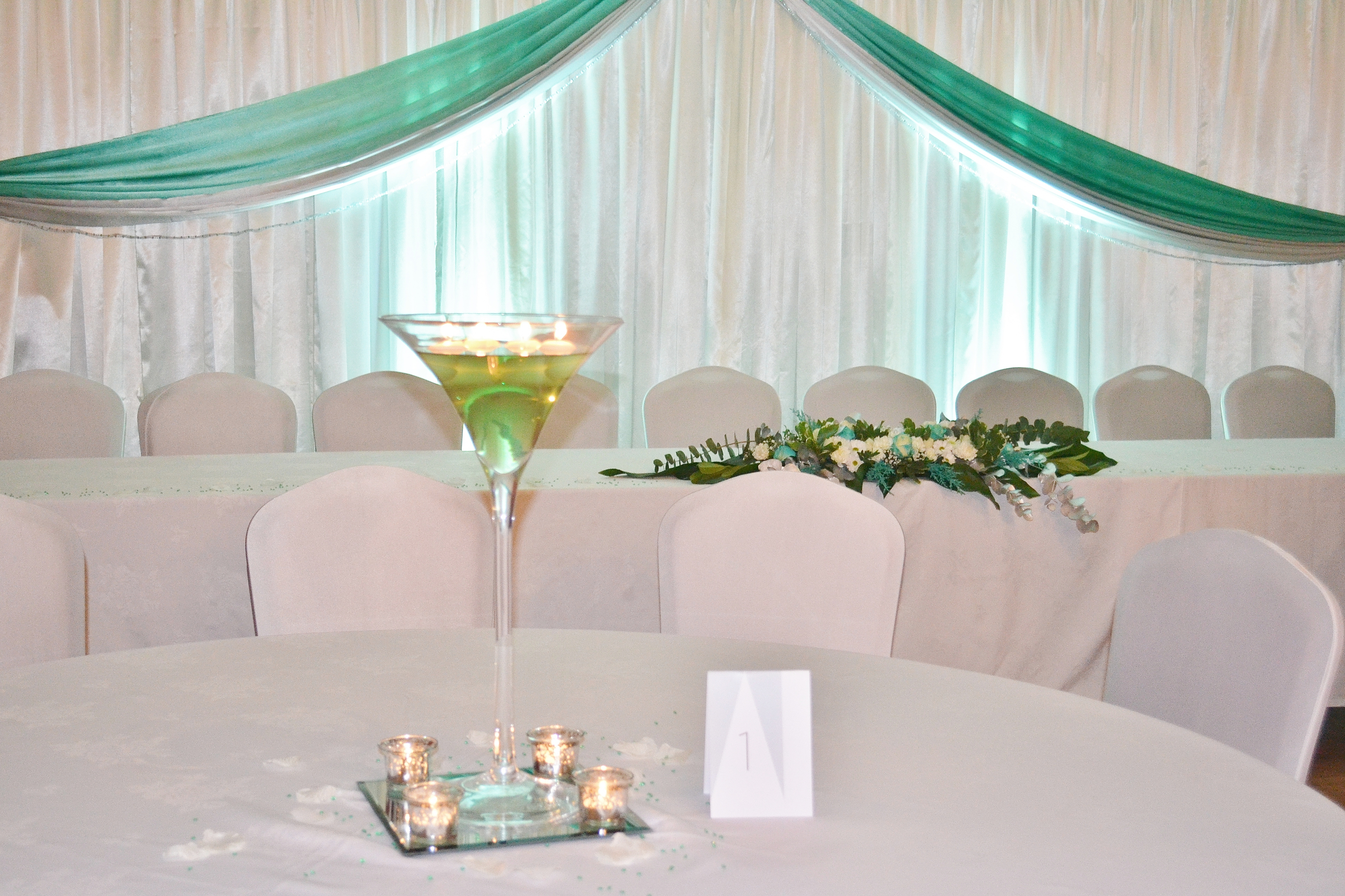Floating Candle Martini Vase