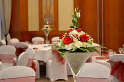 Flower Martini Vase Centrepiece