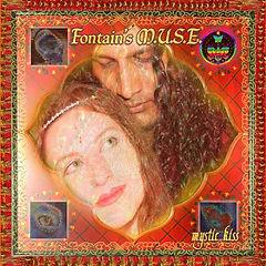 Mystic Kiss Album Cover - Multi Cultural Music - Sitar Song Writing - Eastern Fusion Music