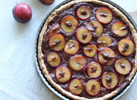 Did you say... Plant-based Plum Pie?