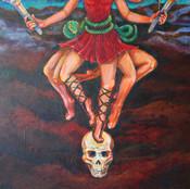 Feet and Skull