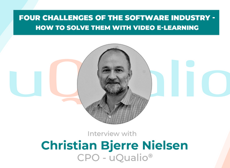 Four challenges of the software industry - how to solve them with video eLearning