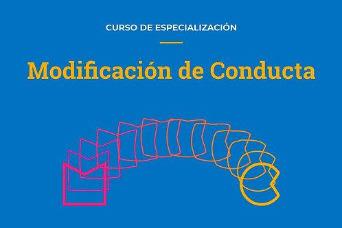 Modificación de Conducta