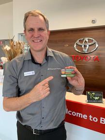 James with Suns Membership card- PR $100