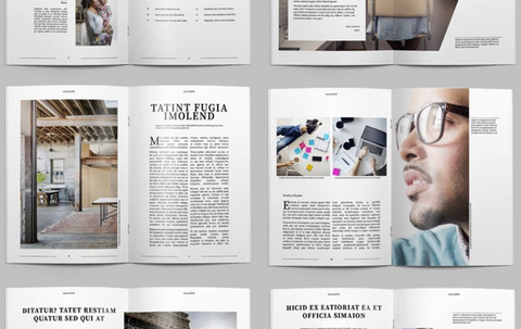 Brosjyre/priskatalog design