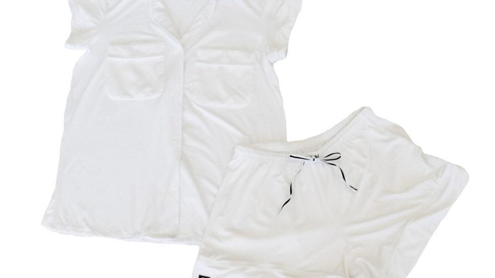The McCarron original pajama set-White