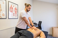 Using spinal manipulation techniques to provide relief for back pain when the client used a gift voucher