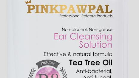 PinkPawPal Ear cleansing Solutions For Cats