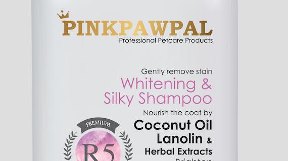 PinkPawPal Whitening Shampoo