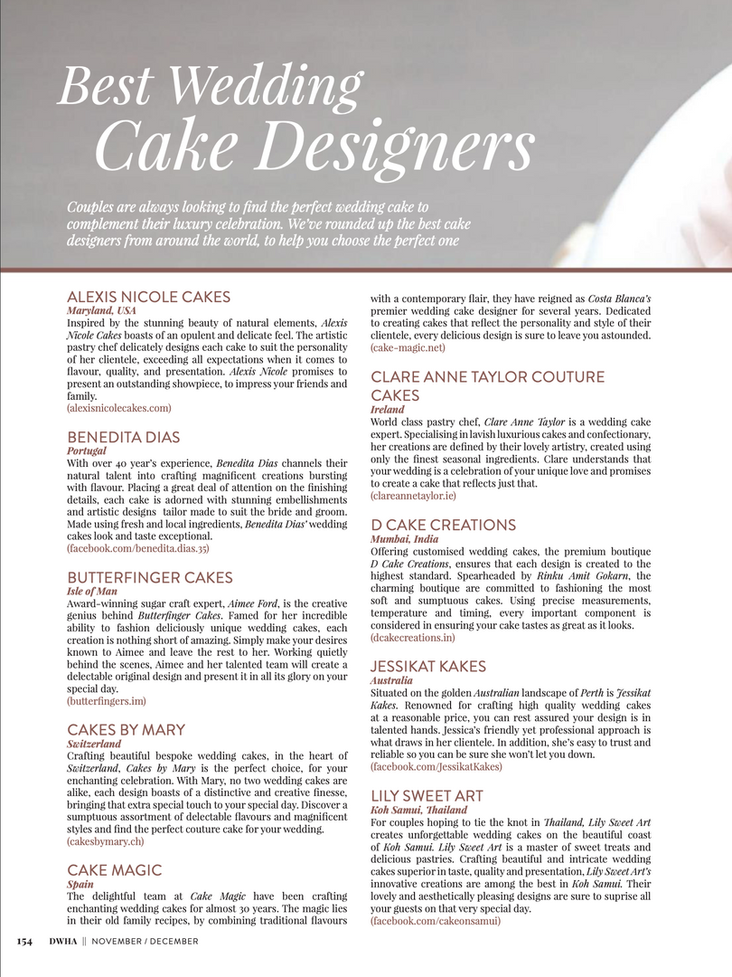 Alexis Nicole Cakes - Top 20 Cake Designers from around the world