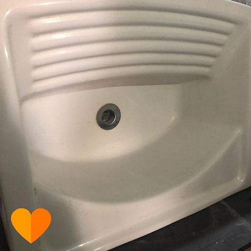 Tanque de cerâmica para lavanderia - Deca (Disponibilidade: 1 Peça)