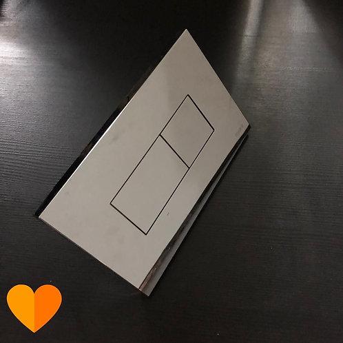 Acabamento para caixa de descarga embutida (Disponibilidade: 1 Peça)