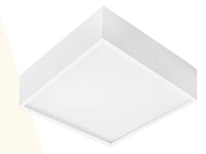 Luminária de sobrepor com painel em LED - RMLED-23/9 (Morgan)