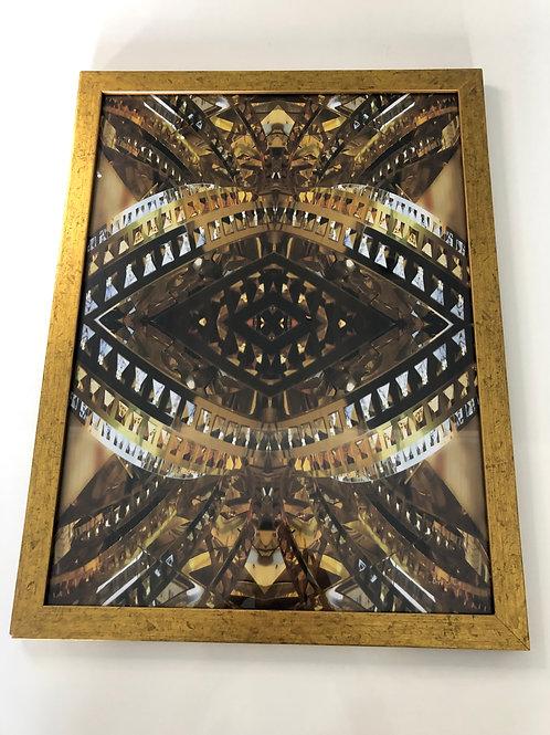 Quadro retangular imagem abastrata - Print & Co