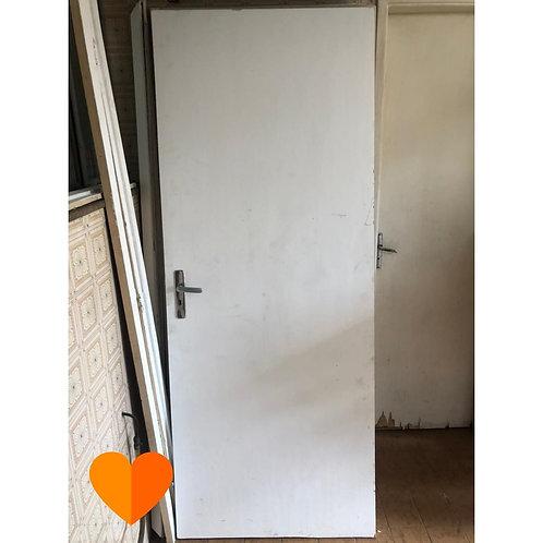 Porta de madeira - 82x210 (Disponibilidade: 1 Peça)