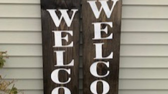 Unique Welcome Sign