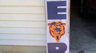 Chicago Bears Sports Sign