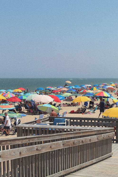 Umbrellas on Bethany Beach, DE