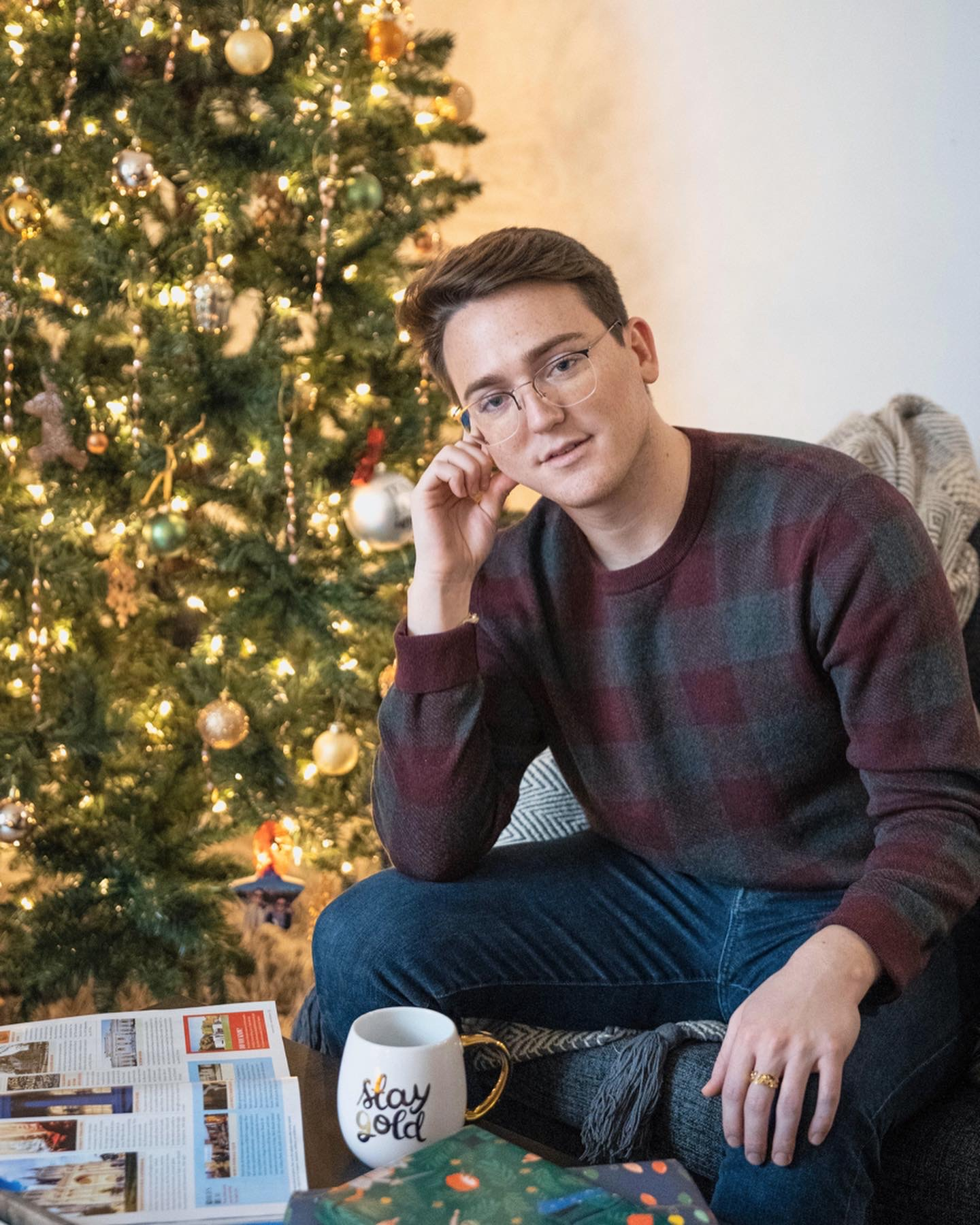 Holiday style with my everyday frames