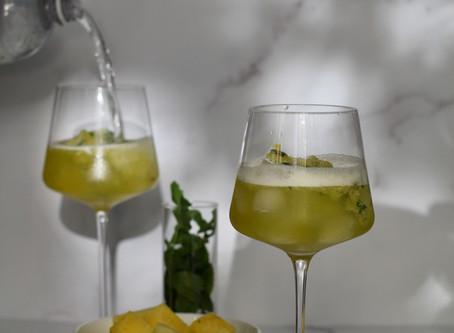 Cocktail O'Clock: Golden Watermelon Mojito