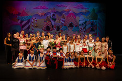 Group photo of Inspire School of Ballet performers who participated in the 2019 production of The Nu