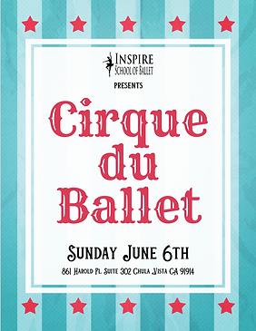 Cirque du Ballet 2021 Sunday Program.png