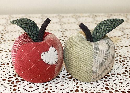 ペアのリンゴ