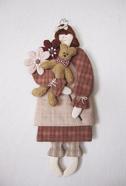 壁掛け人形
