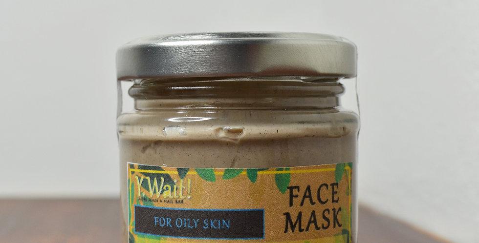 Pre-Blended Face Mask For Oily Skin