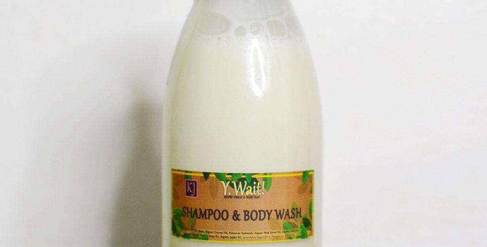'KJ' Shampoo & Body Wash