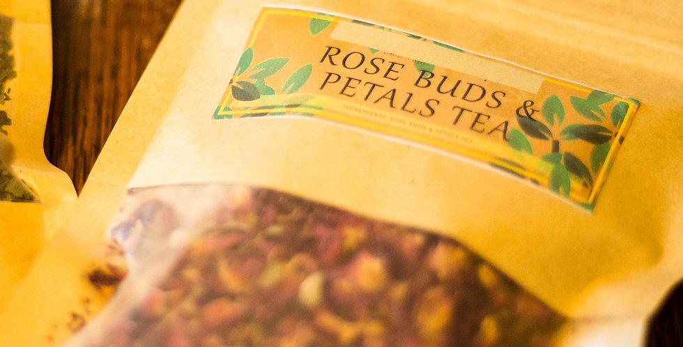 Rose Buds & Petals Tea
