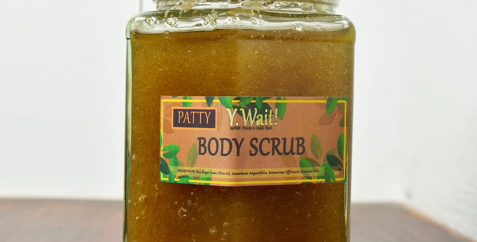 'Patty' Body Scrub
