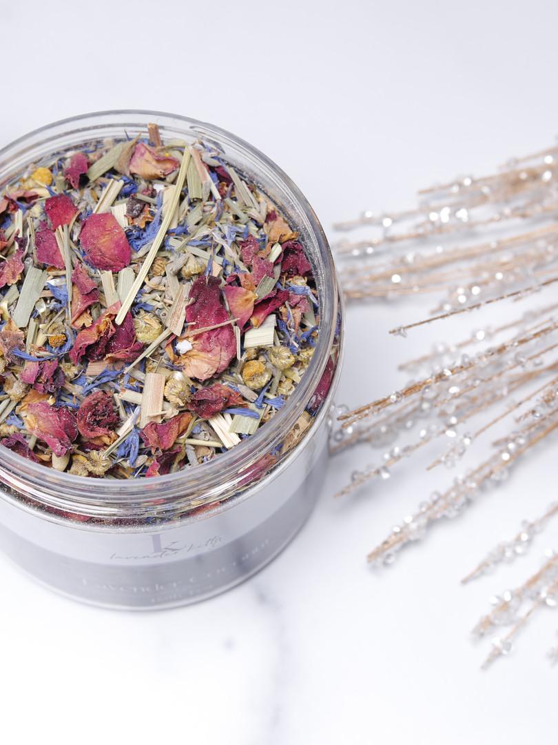 Lavender Coconut Bath Tea