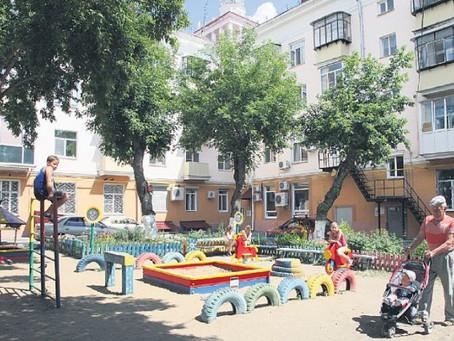 В Омске стартует конкурс на самыйлучший двор!