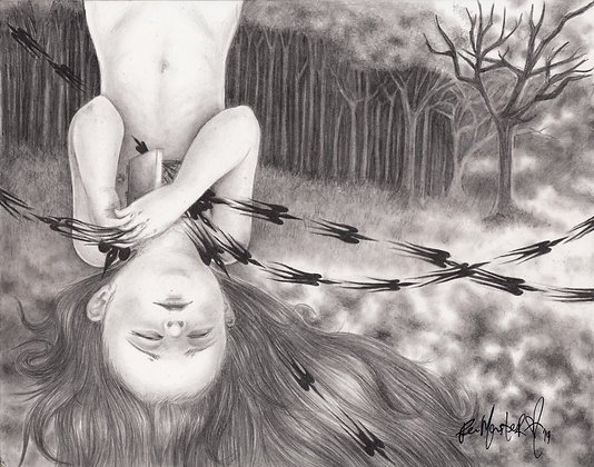 """""""Wither or Not (The Art of Breaking)"""" Original"""
