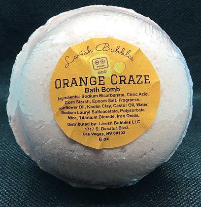 Orange Craze Bath Bomb
