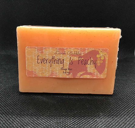 Everything is Peachy Soap Butter Bar